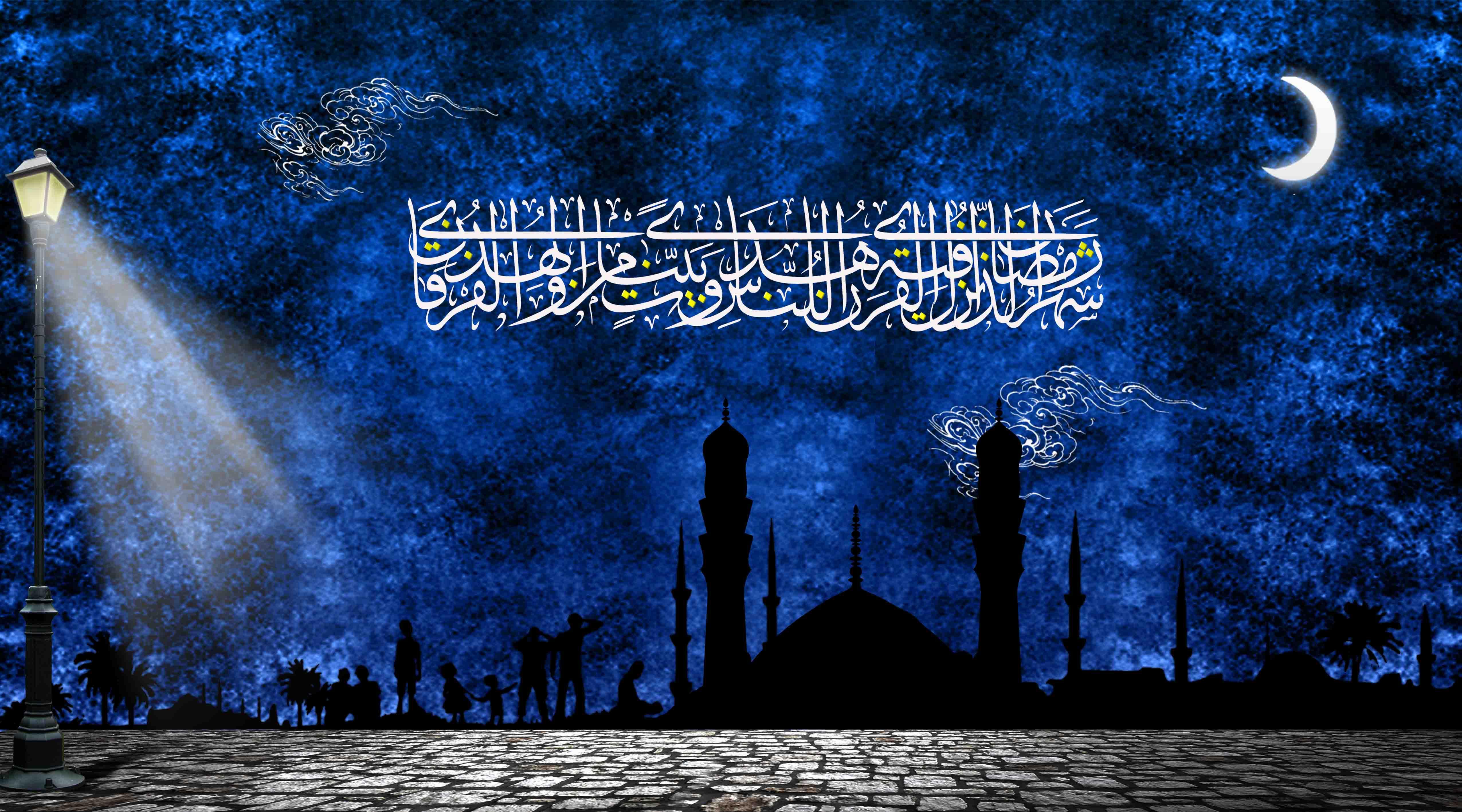 طرح لایه باز بنر ماه مبارک رمضان (002)